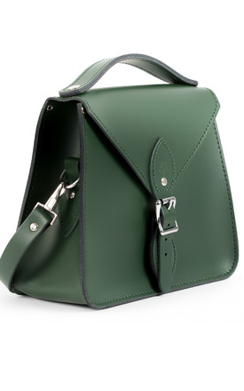Esme Crossbody Bag Bottle Green by Gweniss Product photo