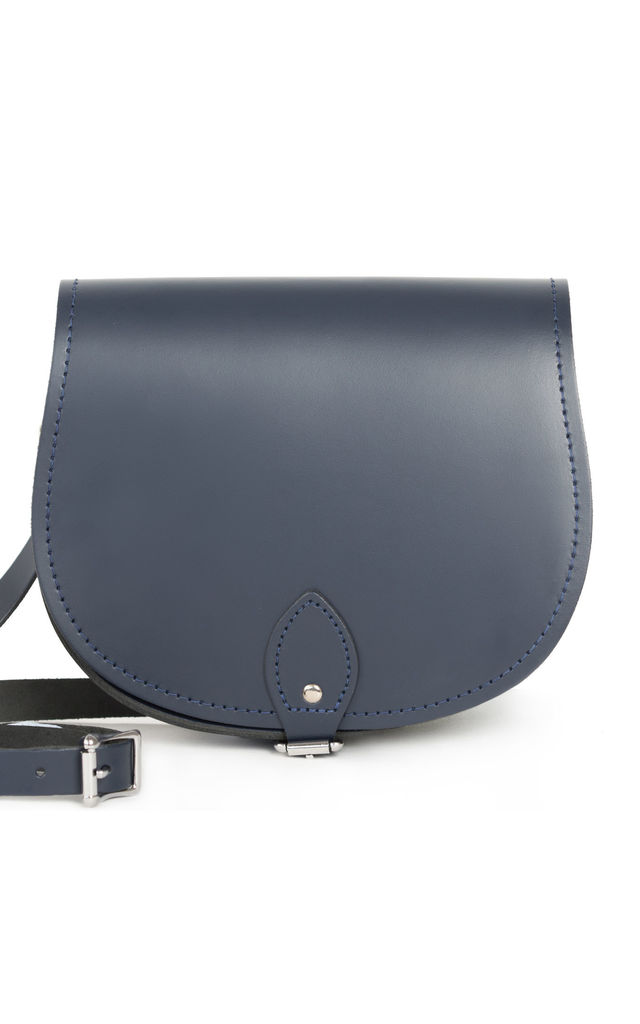 Avery Saddle Bag Navy Blue by Gweniss