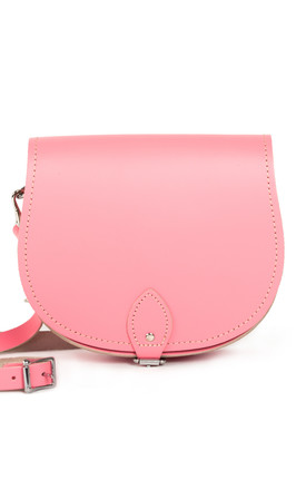 Avery Saddle Bag Pastel Pink by Gweniss Product photo