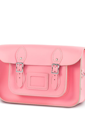 Charlotte Satchel M Pastel Pink by Gweniss Product photo