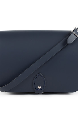 Riley Saddle Bag Navy Blue by Gweniss