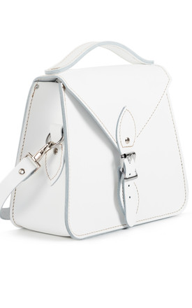 Esme Crossbody Bag White by Gweniss Product photo