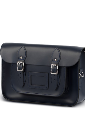 Charlotte Satchel M Navy Blue by Gweniss Product photo
