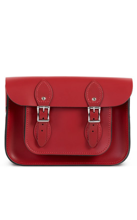 Charlotte Satchel S Scarlet Red by Gweniss Product photo