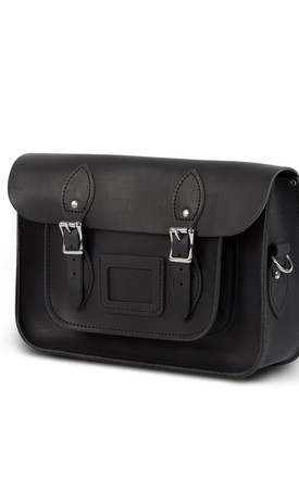 Charlotte Satchel M Vintage Black by Gweniss Product photo