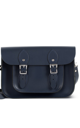 Charlotte Satchel S Navy Blue by Gweniss Product photo