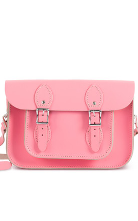 Charlotte Satchel S Pastel Pink by Gweniss Product photo