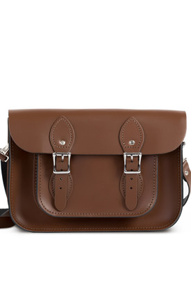 Charlotte Satchel S Dark Brown by Gweniss Product photo
