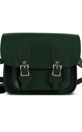 Freya Mini Satchel Bottle Green by Gweniss Product photo