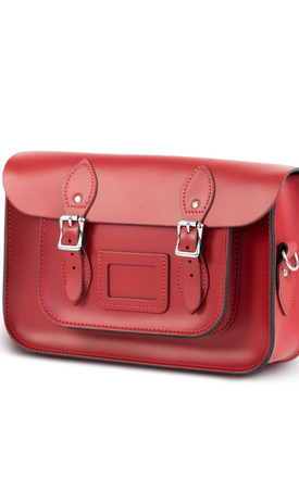 Charlotte Satchel M Scarlet Red by Gweniss Product photo