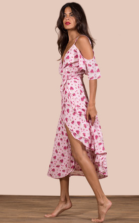 IVY DRESS IN PINK DAISY by Dancing Leopard