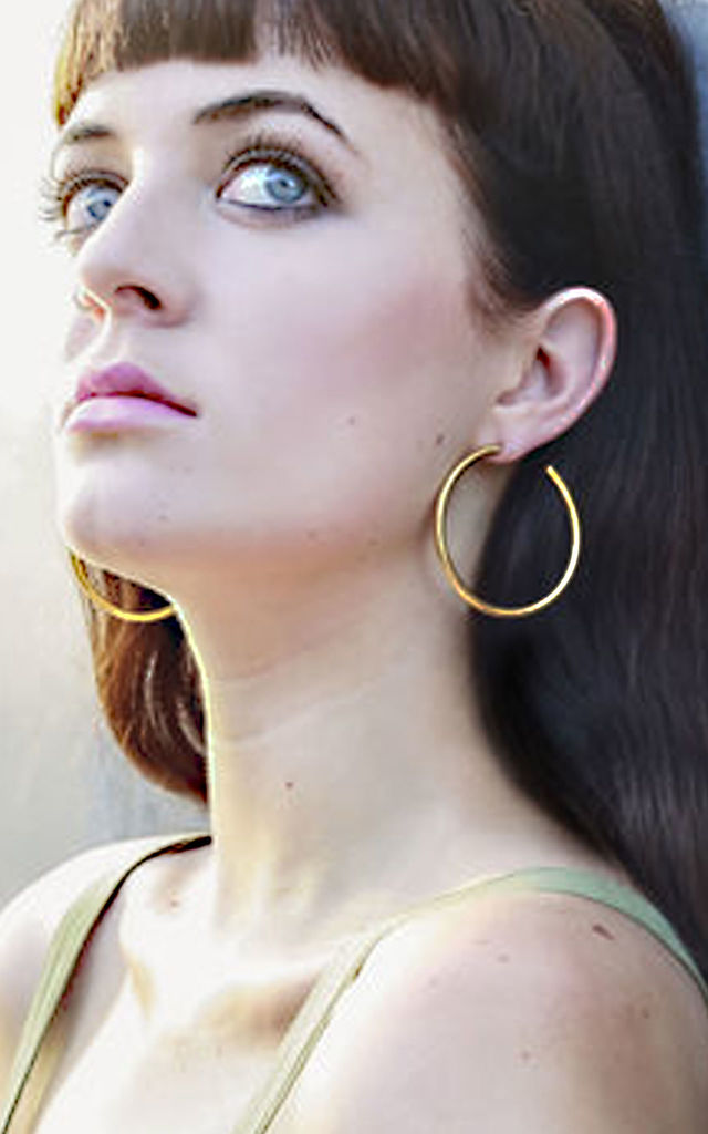 CLASSIC HOOPS by Amai jewellery