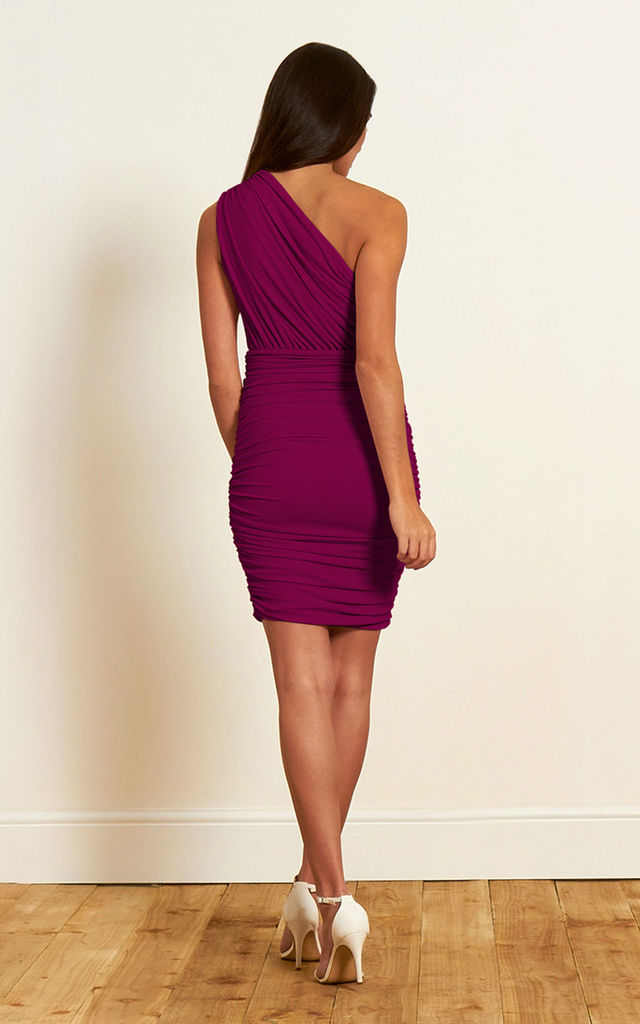 The Wren Dress in Magenta by Gorgeous Couture