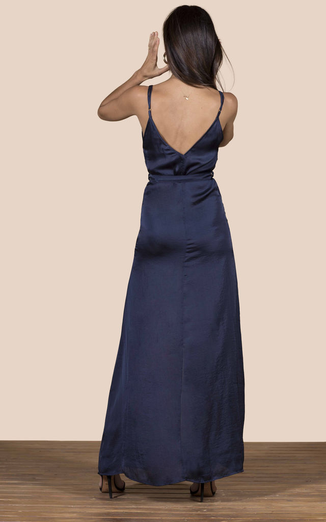 SOOKIE SLIP DRESS IN NAVY image