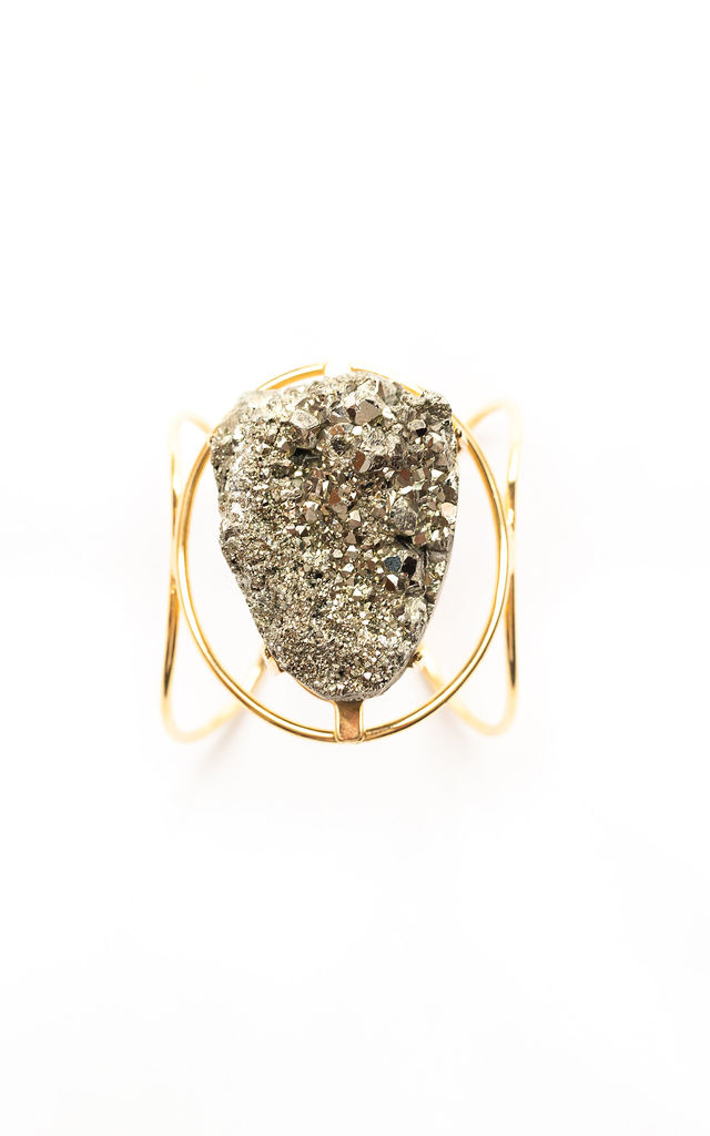 Marly Pyrite Bracelet By Tiana Jewel