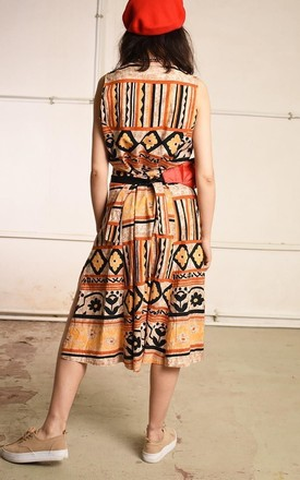 90's retro ethnic print Boho festival midi dress by Lover