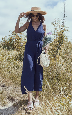 Navy Jumpsuit by If By Sea Product photo