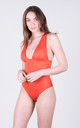 The Angela Onepiece Coral by Tidal Swimwear London