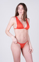 The Natasha Top Coral by Tidal Swimwear London