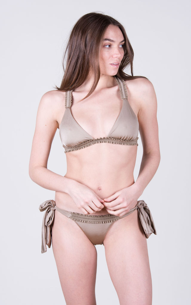 The Katie Top Toffee by Tidal Swimwear London
