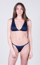 The Natasha Top Navy by Tidal Swimwear London