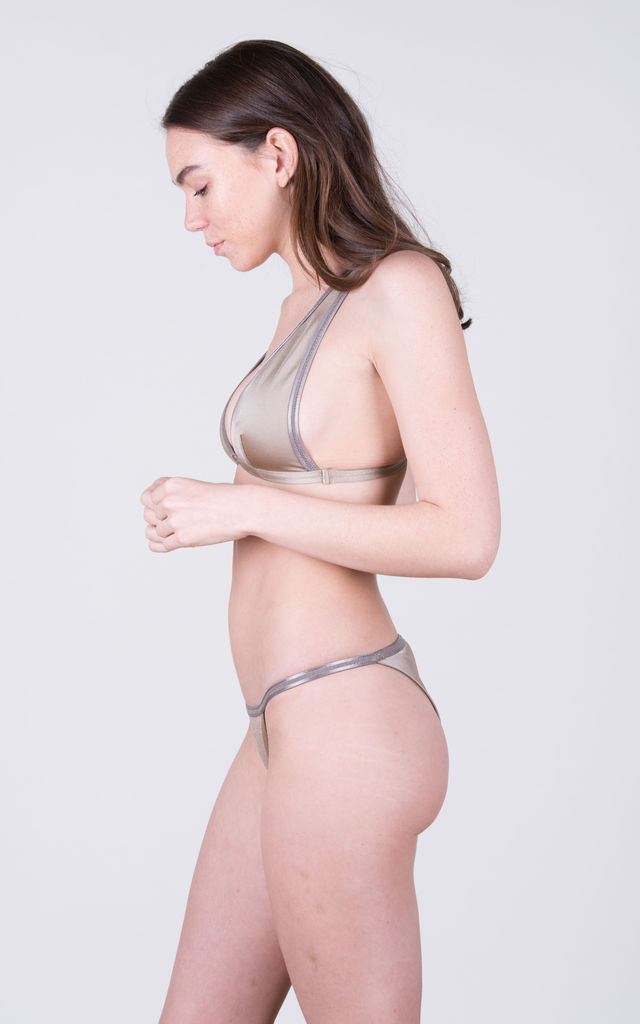 The Natasha Top Toffee by Tidal Swimwear London