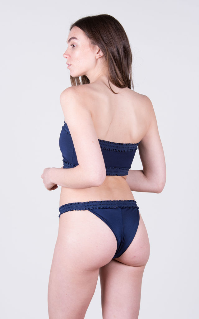 The Holly Top Navy by Tidal Swimwear London