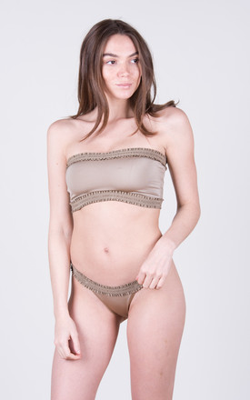 The Holly Top Toffee by Tidal Swimwear London