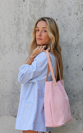 Pink Shopper by THE CODE HANDBAGS