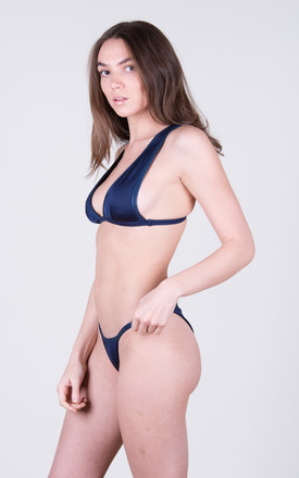 The Lucy Bottoms Navy by Tidal Swimwear London