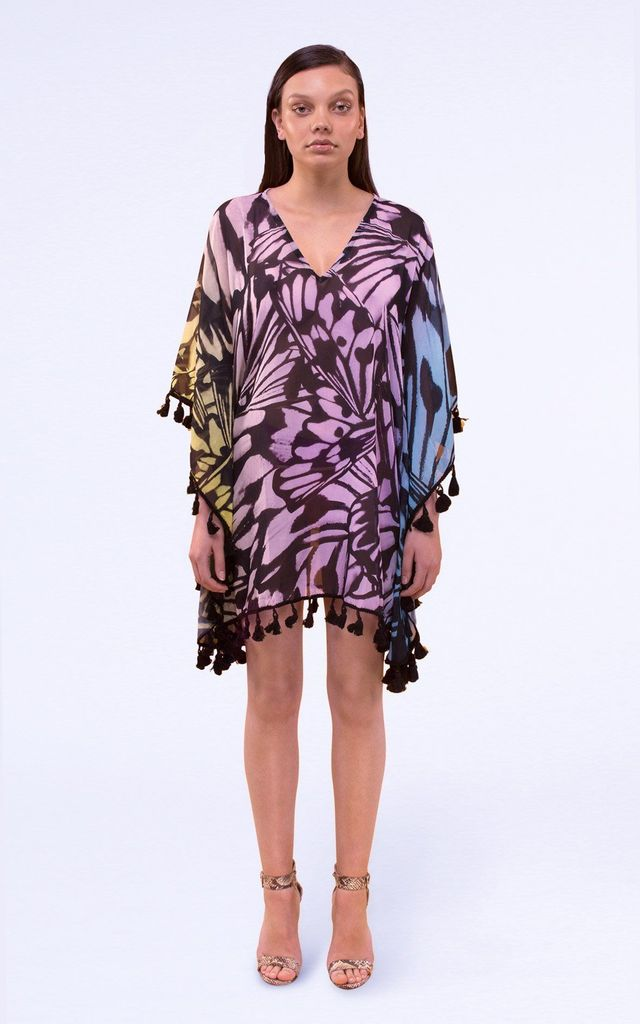 Stella Beach Kaftan in Mixed Print by Coco Riko Ibiza