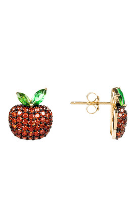The Forbidden Apple Earring Red by Latelita
