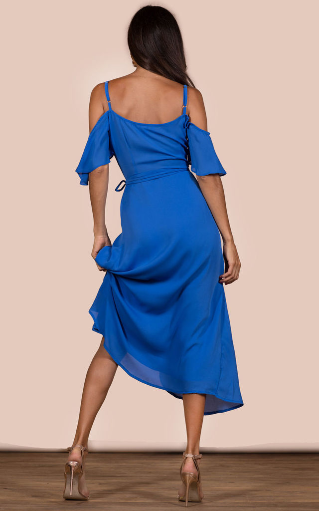 IVY DRESS IN SUMMER BLUE image