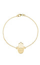 Cosmic Hamsa Bracelet Gold by Latelita