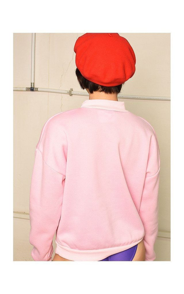 Sweatshirt in Pink by Lover