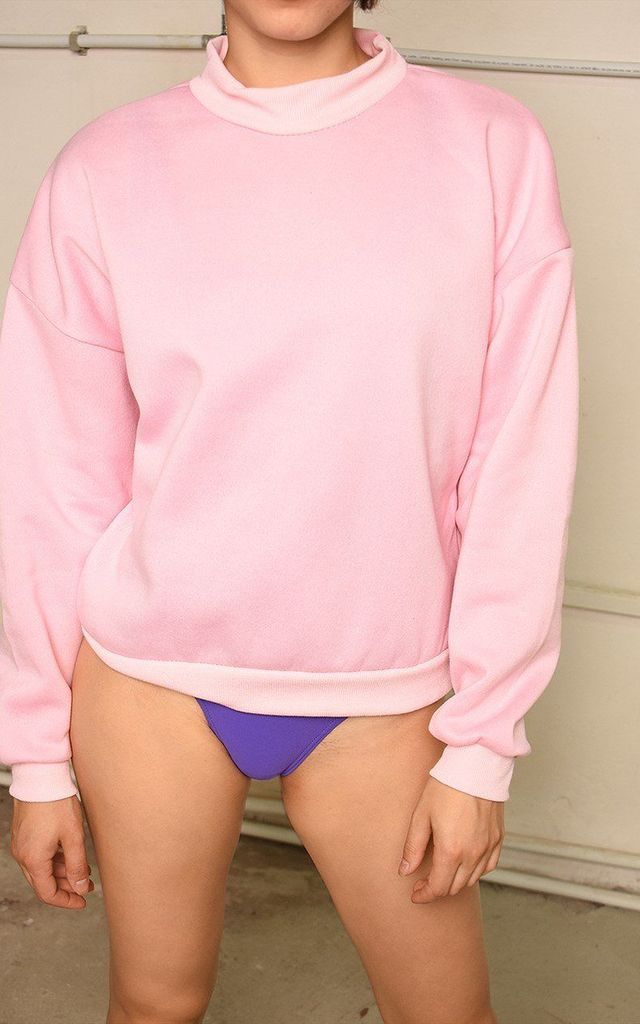Slouchy athleisure basics sweatshirt jumper by Lover