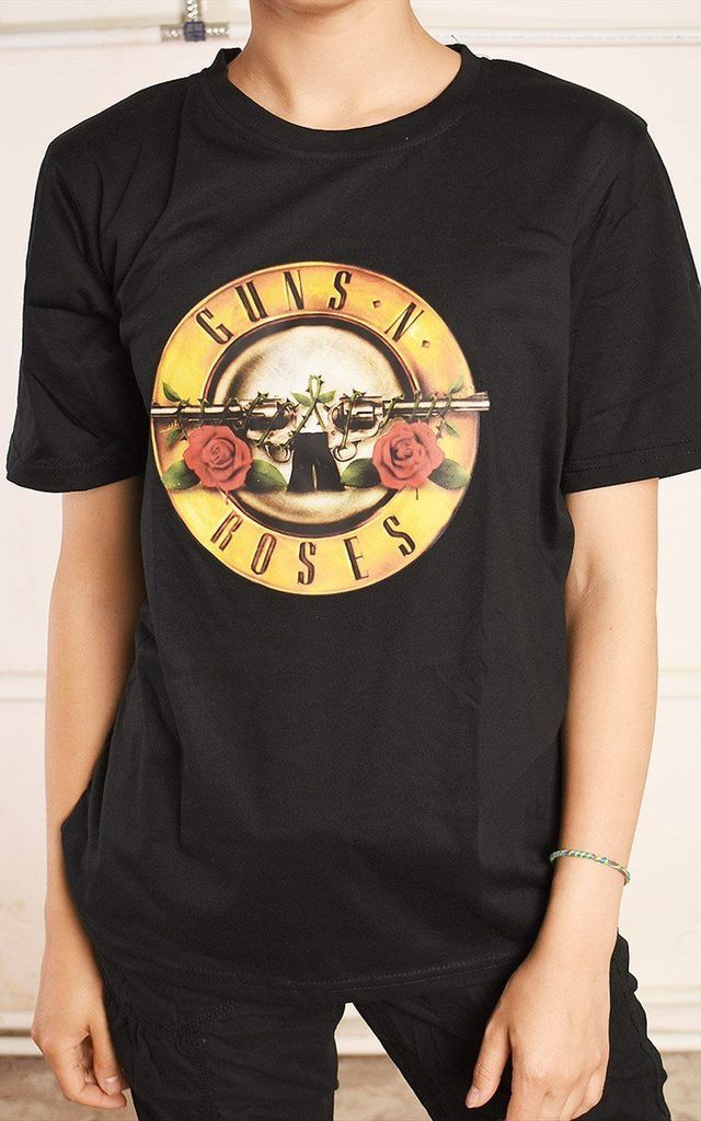 90's retro style GUNS 'N' ROSES rock band t-shirt tee top by Lover