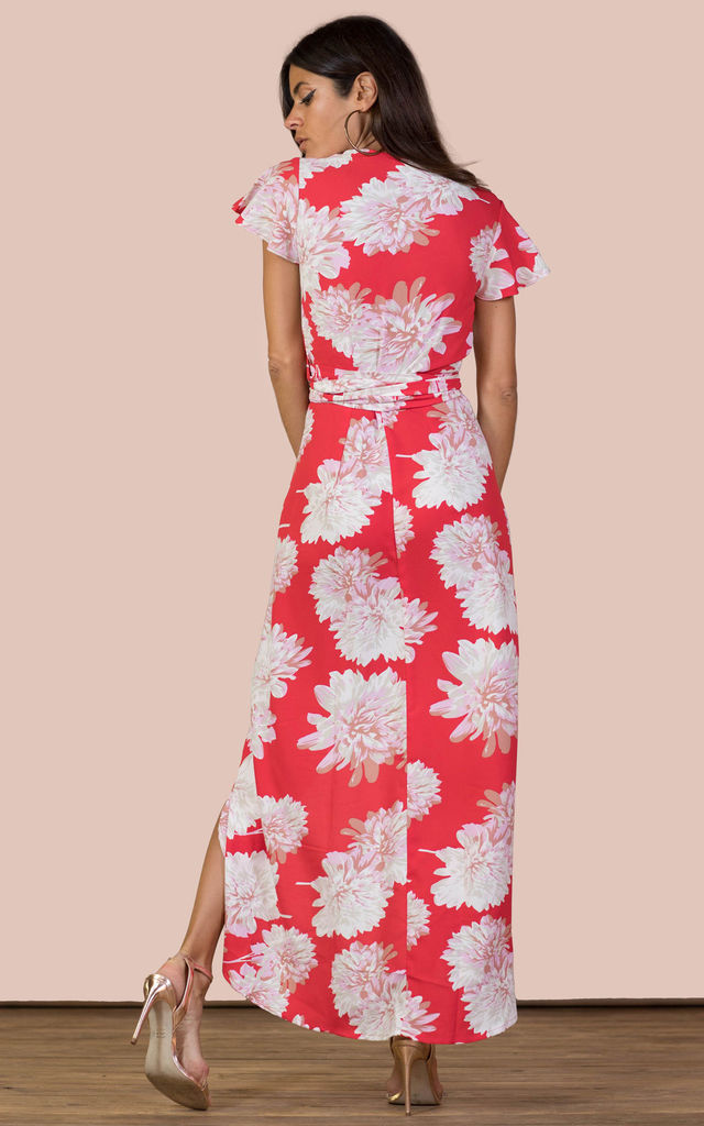 CAYENNE DRESS RED BLOOM image
