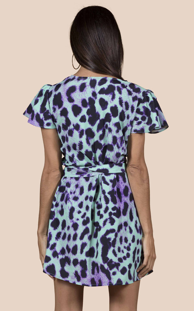 MAE DRESS IN Summer Leopard image