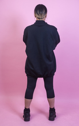 Keep It Zipped Oversized Jumper by CustomRare