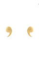 Quote Me Earring Gold by Latelita