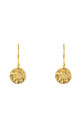 Full Moon Earring Gold by Latelita