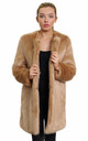 Tatiana Camel Luxury Faux Fur Coat by De La Creme Fashions