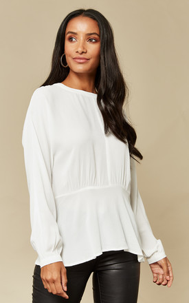 Snow White Long Sleeve Top by Selected Femme