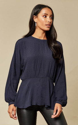 Dark Sapphire Long Sleeve Top by Selected Femme Product photo