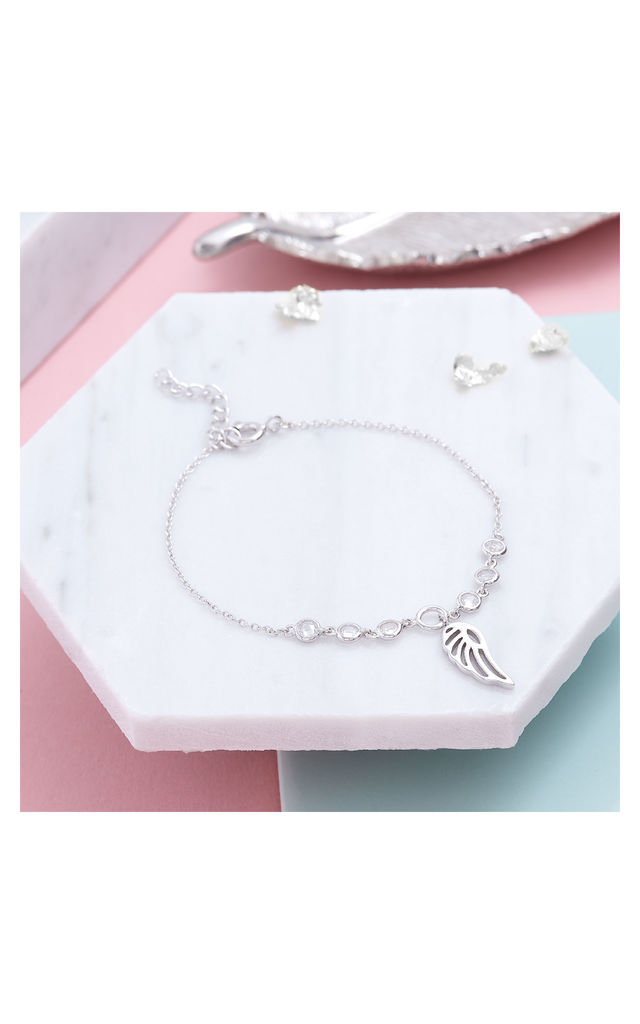 Angel Wing Bracelet by Inscripture