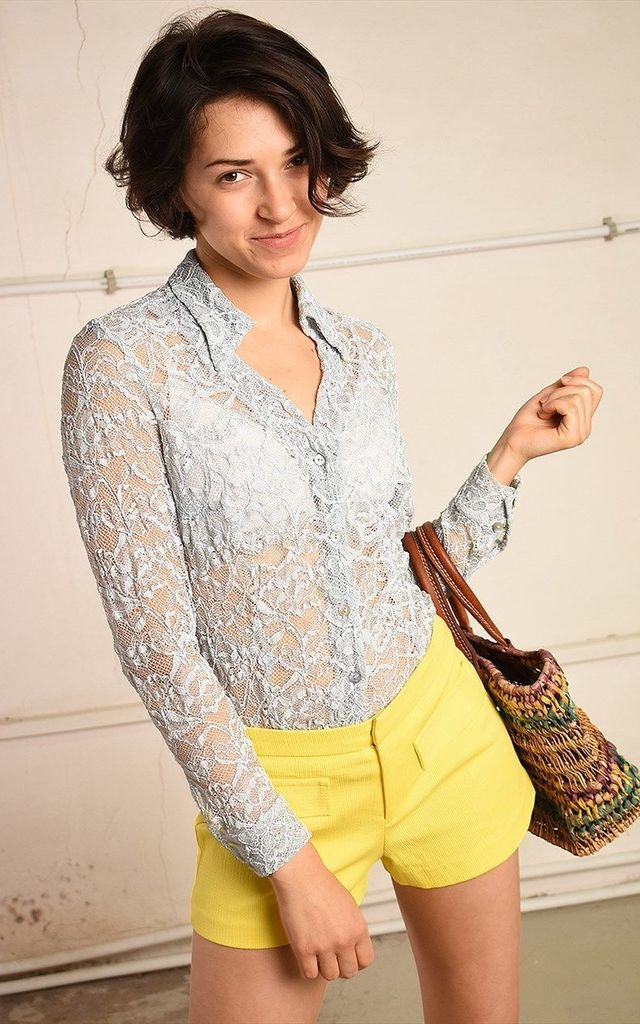 90's retro lace Paris chic festival shirt top by Lover