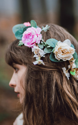 Rose Flower Crown by Stone & Rose