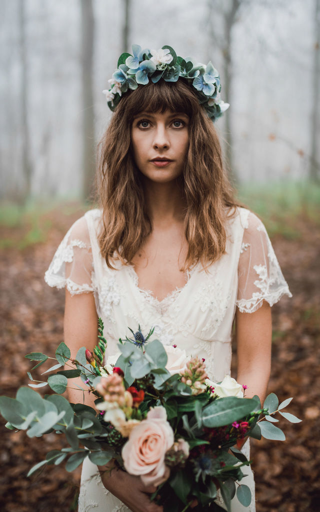 Eucalyptus Hair Crown by Stone & Rose