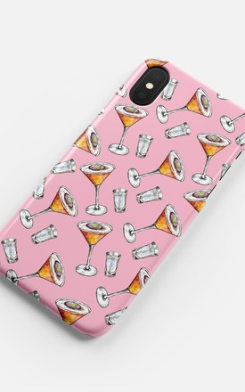 Passion Fruit Martini Phone Case by Coconut Lane